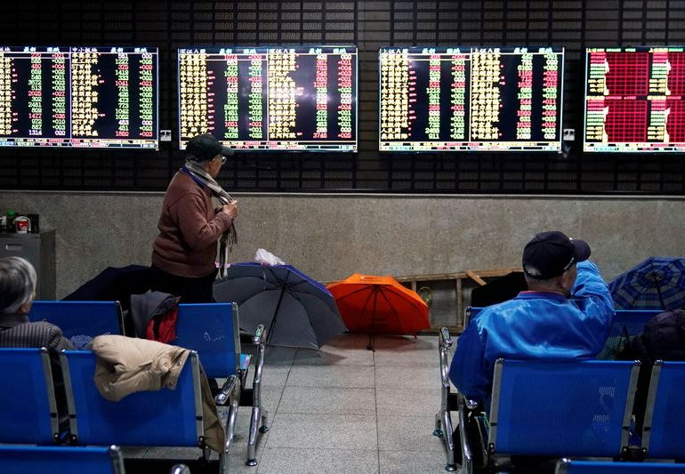 Global shares rest after 'awesome' month, China factories speed up