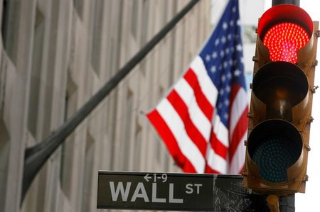 Wall Street Falls at Open as Jobless Claims Rise Unsettles Market; Dow Down 60 Pts