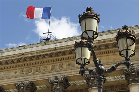France stocks lower at close of trade; CAC 40 down 0.86%