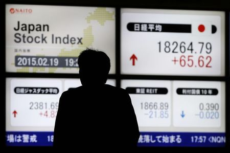 Japan stocks lower at close of trade; Nikkei 225 down 0.22%