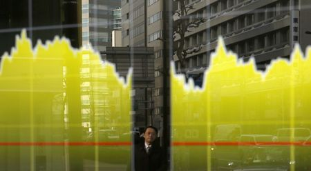 Japan stocks lower at close of trade; Nikkei 225 down 0.45%