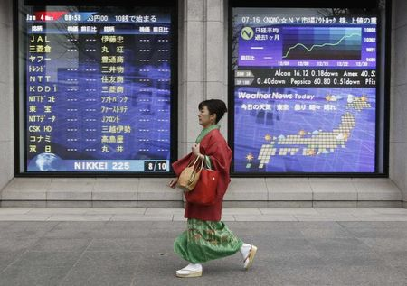 Japan stocks lower at close of trade; Nikkei 225 down 0.23%