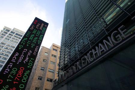 Israel stocks higher at close of trade; TA 35 up 1.04%
