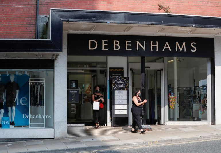 Debenhams to be liquidated in hammer blow for UK retail sector