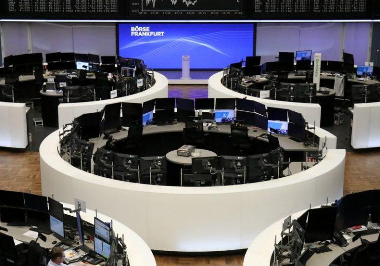 Energy stocks drive gains in European shares