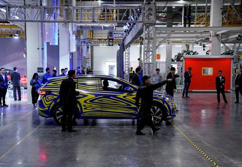 China's car production may face disruptions from chip shortage- VW says