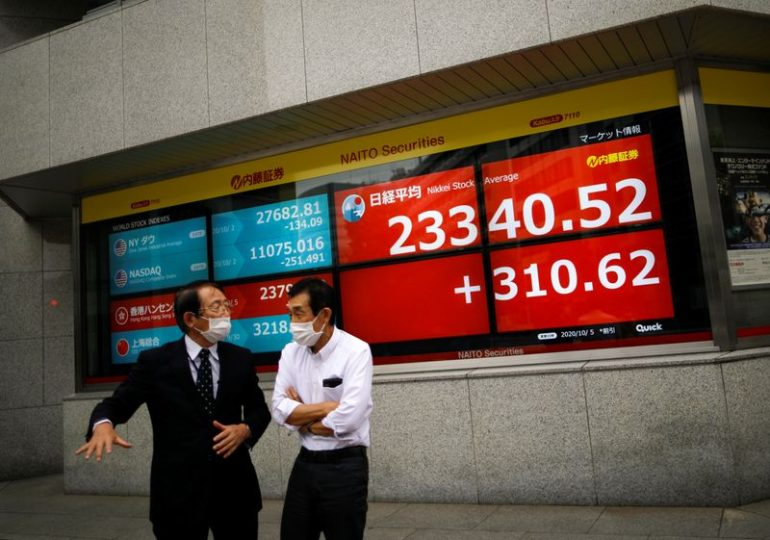 Asian stocks under pressure as pandemic concerns outweigh stimulus hopes