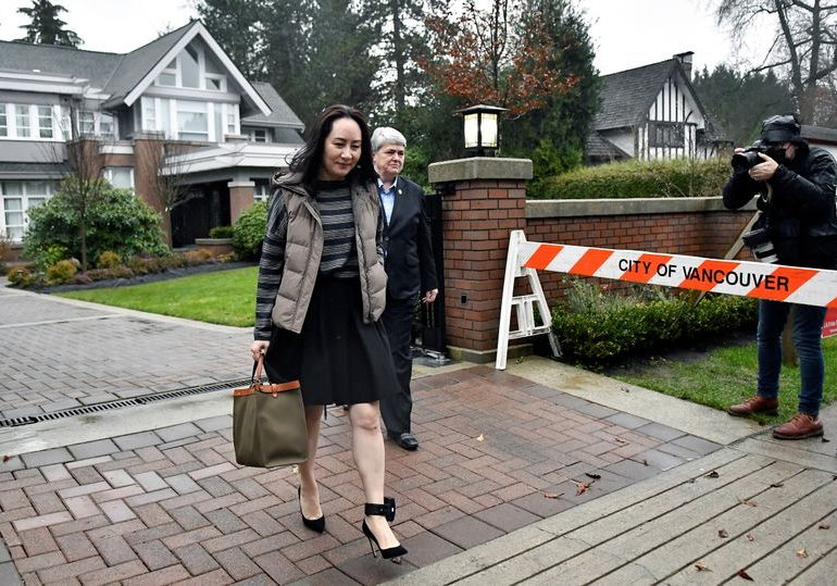 Testimony of Canada airport police officer to wrap up in Huawei CFO's U.S. extradition case