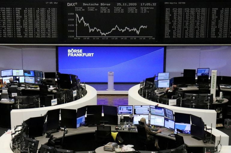 European shares join global rally, all eyes on Brexit talks