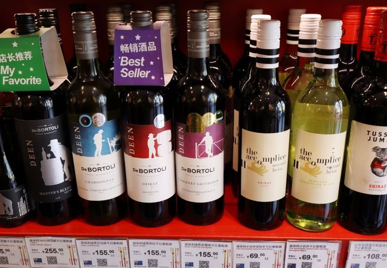China imposes temporary anti-subsidy charges on Australian wine imports