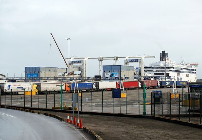 Britain to fast track some perishable goods at ports from Jan. 1 - BBC