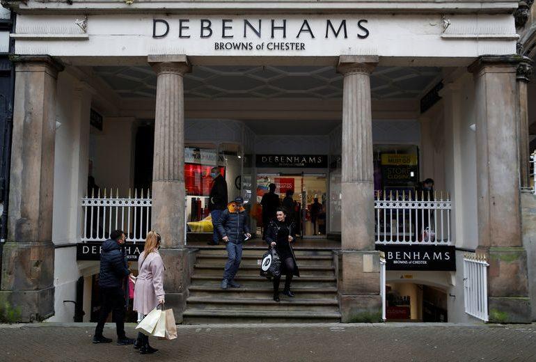 Authentic Brands plotting double takeover of Debenhams, Arcadia: Telegraph