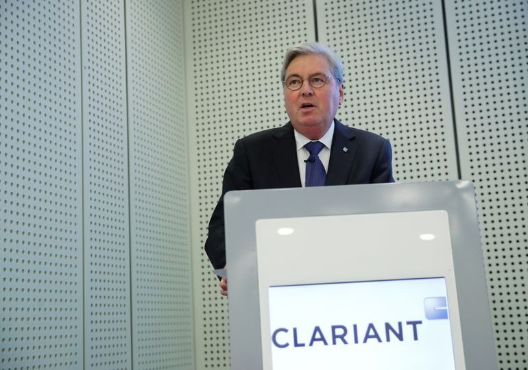 SABIC's time limit request for Clariant board would end chairman's term