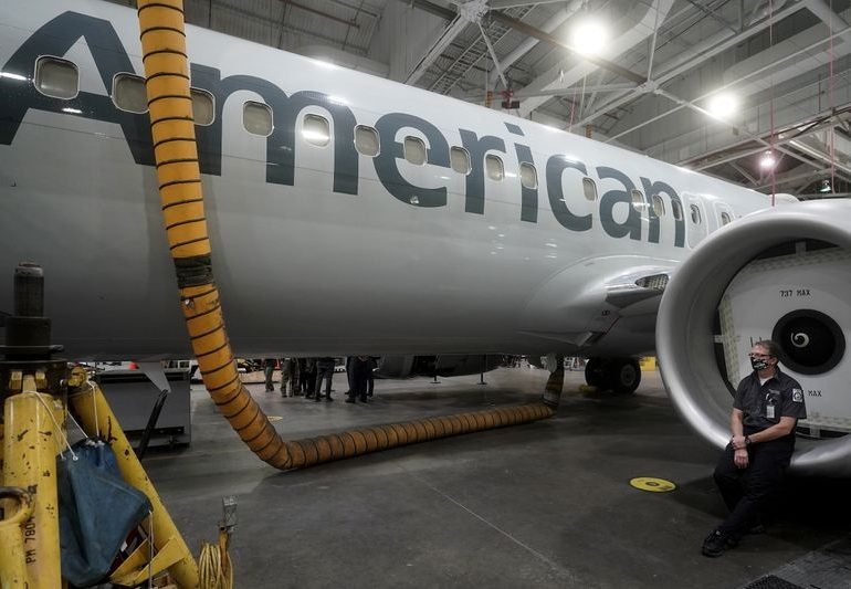 American Airlines to restart U.S. commercial Boeing 737 MAX flights