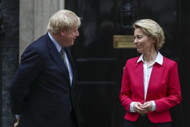 Boris Johnson, UrsulaVon der Leyen to Meet in Person to Push for Brexit Deal