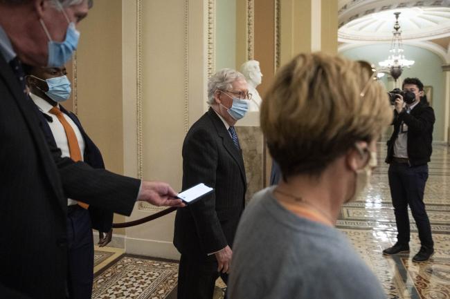 Senate GOP Blocks Attempt to Pass $2,000 Stimulus Checks