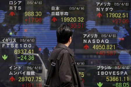 Asian Stocks Up, Mostly Unperturbed by Chaos in Washington D.C.