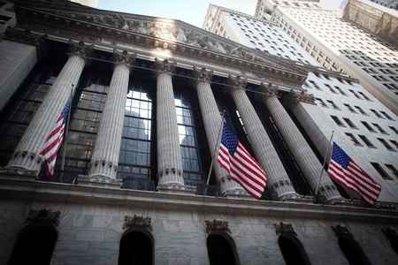 U.S. stocks lower at close of trade; Dow Jones Industrial Average down 1.61%