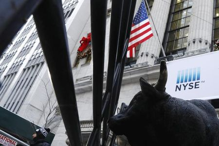 U.S. stocks mixed at close of trade; Dow Jones Industrial Average down 0.06%