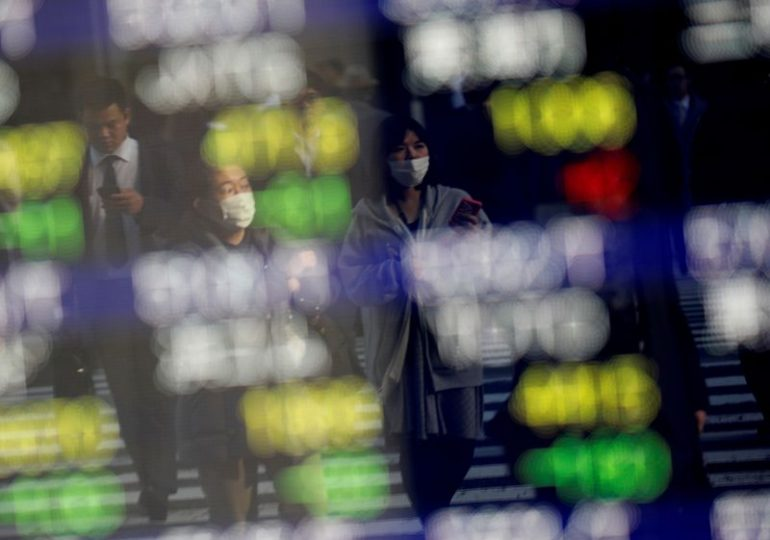 Asia shares given pause by Tokyo lockdown talk
