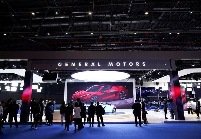 GM's 2020 China sales drop for third year as pandemic hits market