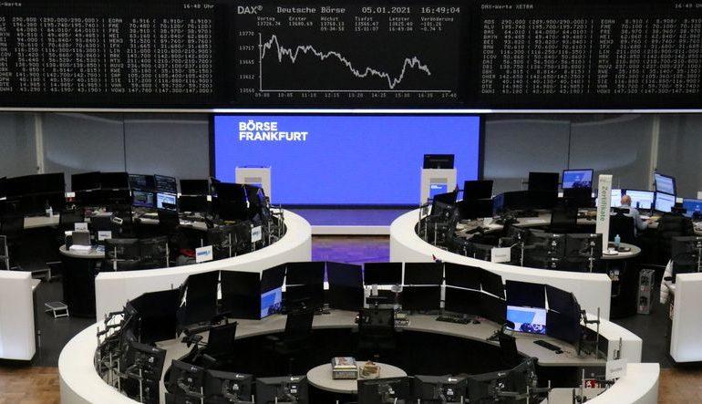 European stocks rise as possible 'blue sweep' in Georgia lifts U.S. stimulus hopes