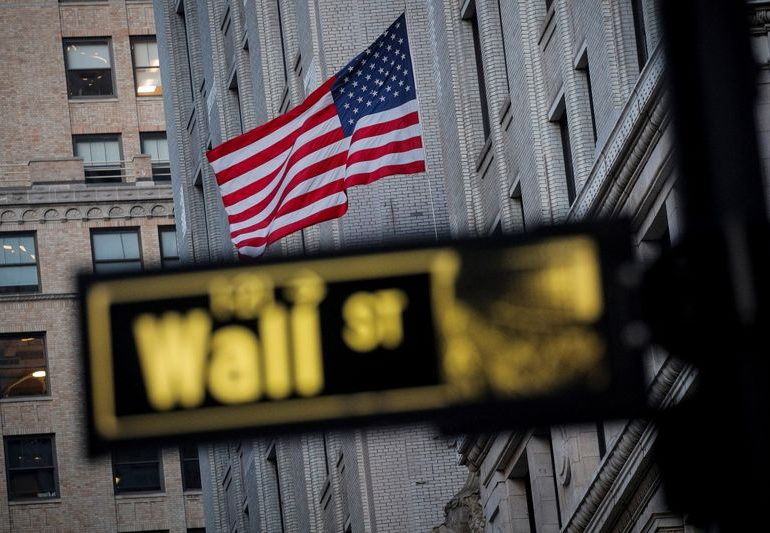 S&P 500 eases from record level as financials, industrials weigh