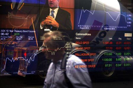 Australia stocks lower at close of trade; S&P/ASX 200 down 1.12%