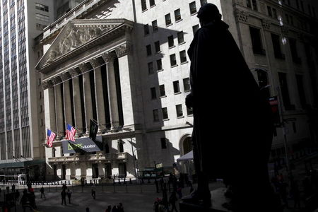 Wall Street Edges Higher at Open, With Eyes on Georgia; Dow up 159 Pts