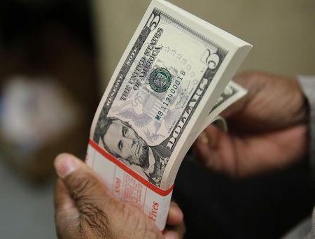 Dollar Up, Ahead of Friday's U.S. Payrolls Report
