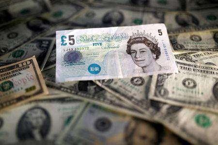 Dollar Down, But U.K. COVID-19 Vaccine Optimism Boosts Pound