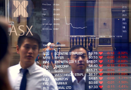 Australia stocks higher at close of trade; S&P/ASX 200 up 0.52%