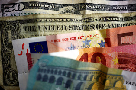 Dollar Edges Higher; Euro Suffers From Growth Comparison