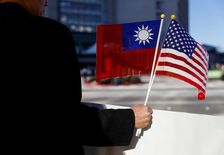 Taiwan says U.S. thanks it for help on auto chips amid shortage