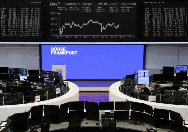 European shares rise, Germany lags after industrial orders data
