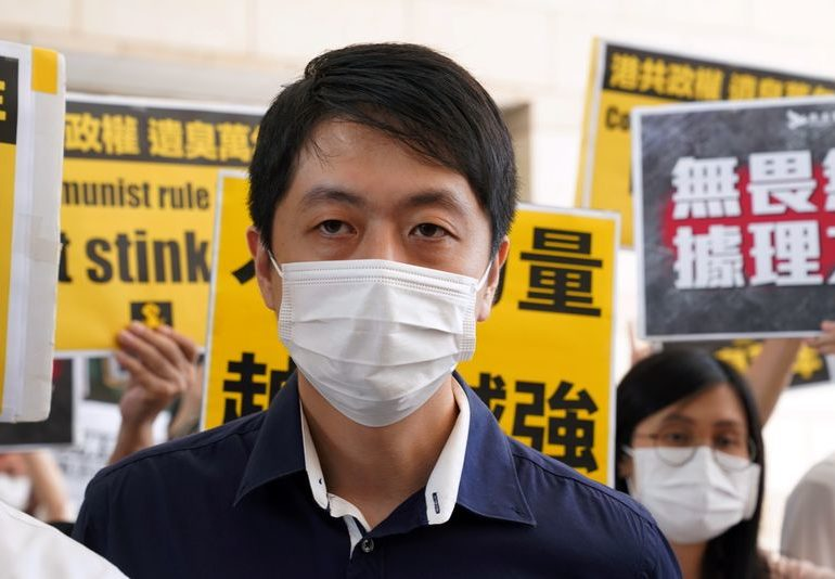 Lawmakers challenge HSBC on Hong Kong activist's accounts