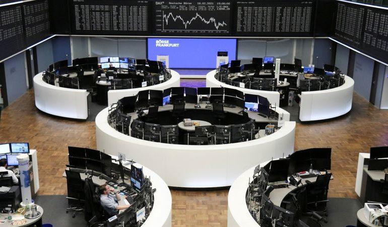European shares rise on upbeat Hermes earnings; Renault slides