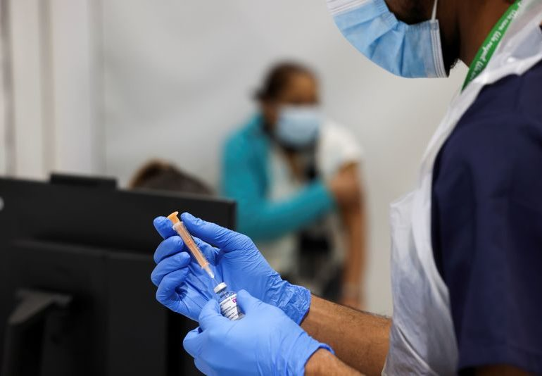 Analysis: Vaccine rollout a shot in the arm for soaring sterling