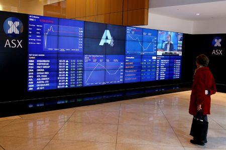Australia stocks lower at close of trade; S&P/ASX 200 down 0.63%