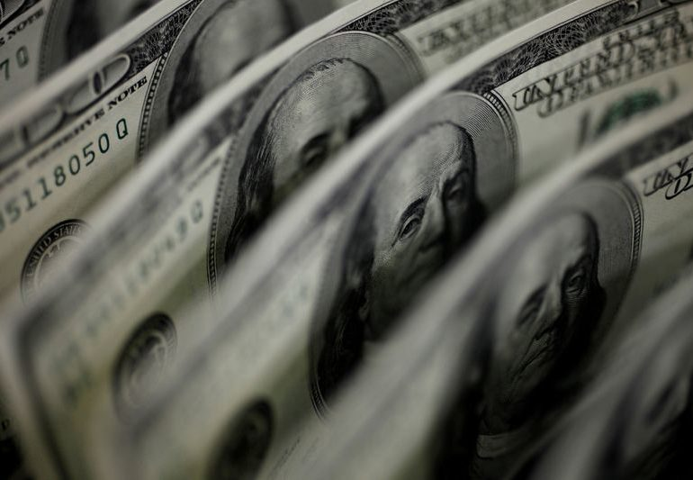 Dollar gains, riskier currencies lose out as U.S. yields rise again