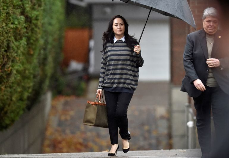 Huawei CFO to appear in Canada court for final phase of extradition hearings