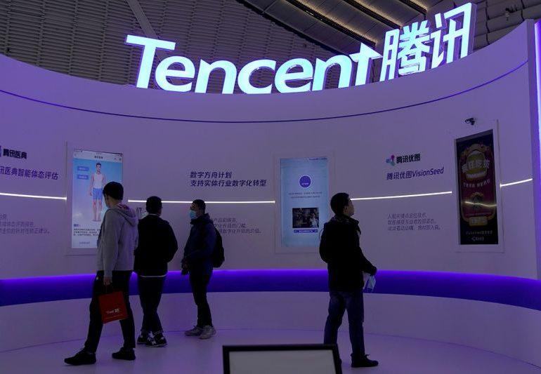 Tencent's quarterly profit jumps 175%, beats forecasts