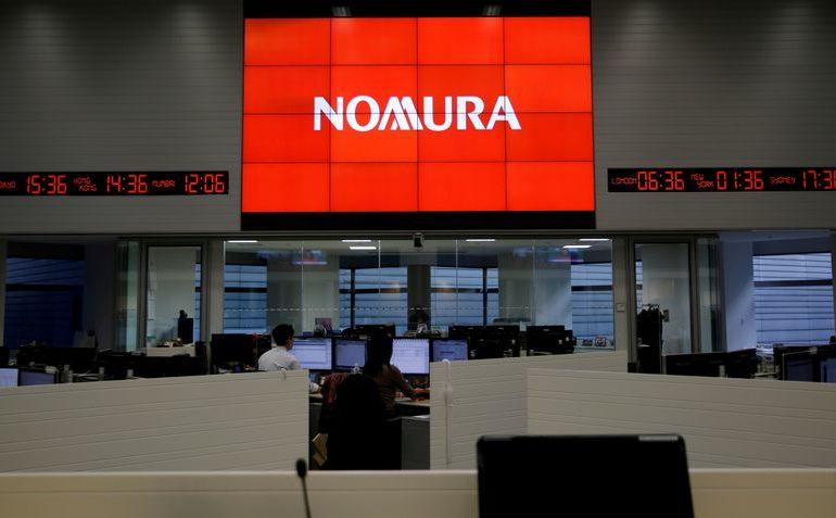Nomura flags $2 billion loss, cancels bond issue; shares plummet