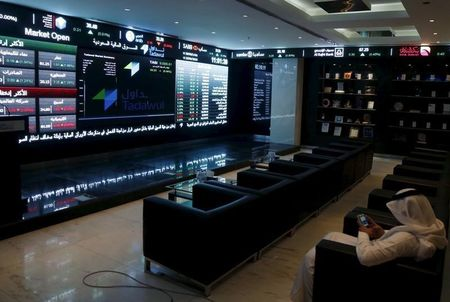 Saudi Arabia stocks lower at close of trade; Tadawul All Share unchanged