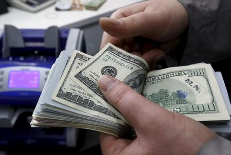 Dollar Up, but Remains Near One-Week Low as Bond Yields Drop