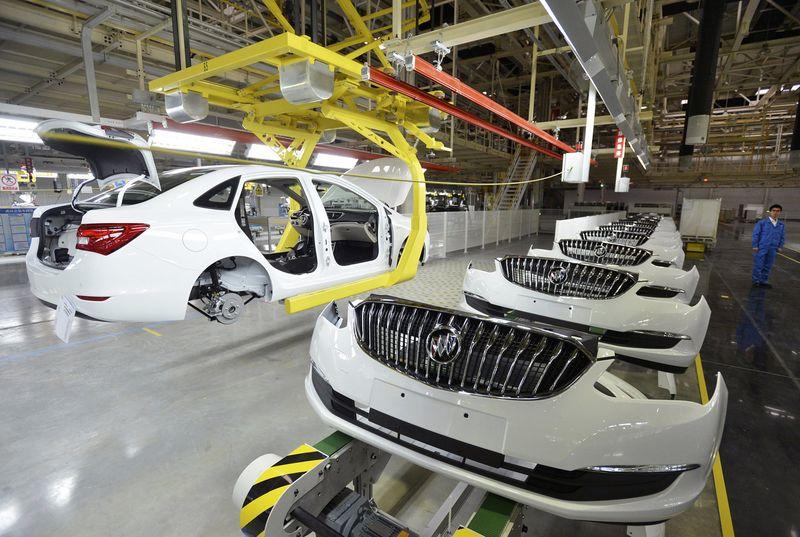 GM Drops as Chip Shortage Shutters More Plants