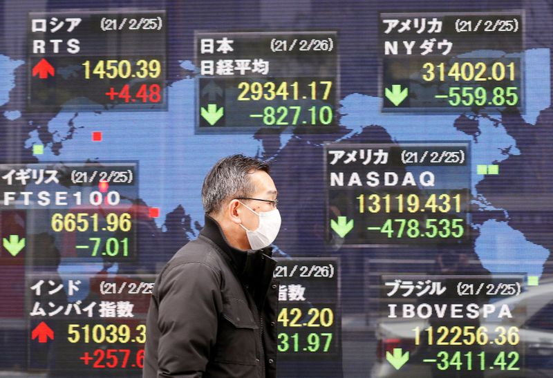 Asia shares set for choppy session after S&P 500 hits record high