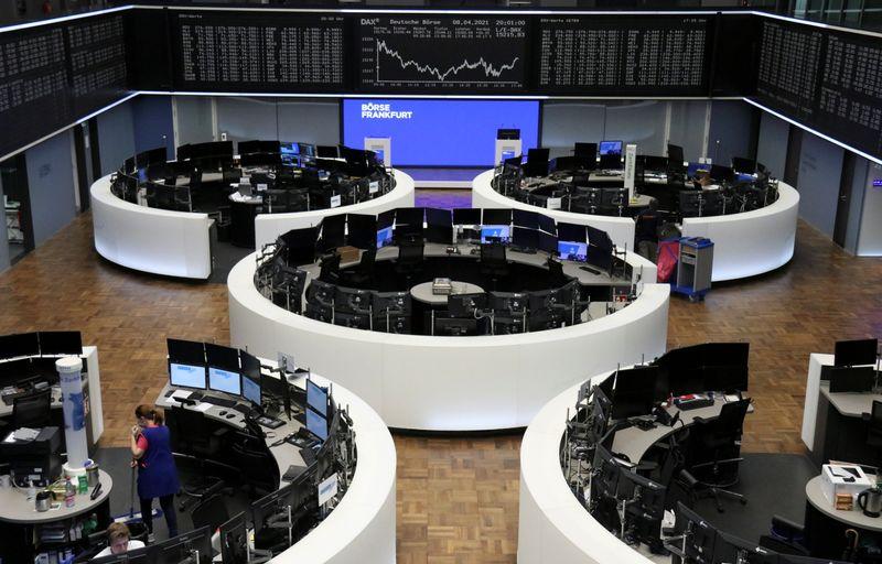 European stocks on longest weekly winning streak in a year