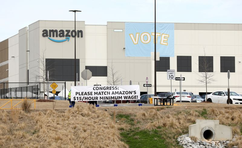 Amazon.com warehouse workers reject union drive in majority vote