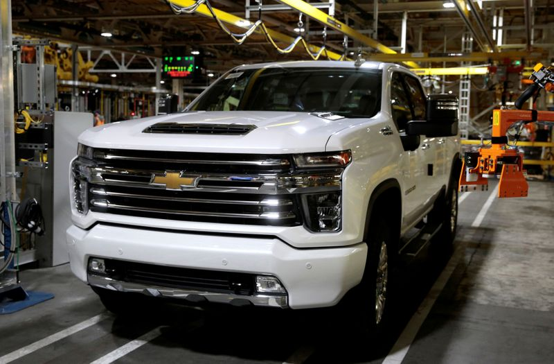 GM cuts some U.S. truck production shifts because of chip shortage